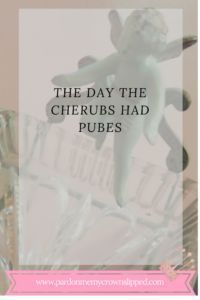 The Day the Cherubs Had Pubes..humorous look at caregiving for someone with dementia.  Elderly behaviors