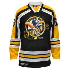 88ea7c103 Guinness Toucan Yellow Real Deal Hockey Shirt.. Custom Hockey Jerseys
