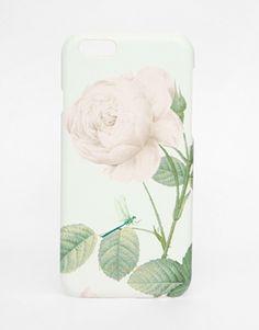 Ted Baker – iPhone 6-Hülle mit Rosenprint