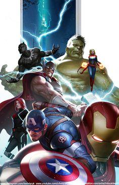 Marvel Dc Comics, Marvel Fan, Marvel Heroes, Captain Marvel, Avengers Poster, Avengers Art, Marvel Universe, Avengers Imagines, Avengers Characters