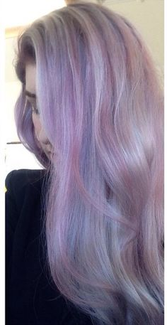 Candy floss hair