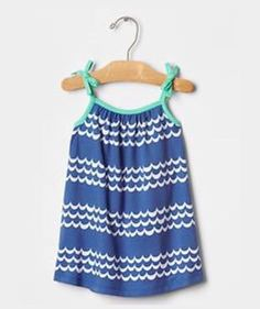 New- Baby Gap Size 3-6 Months Blue Lagoon Wave Dress Nwt | Clothing, Shoes & Accessories, Baby & Toddler Clothing, Girls' Clothing (Newborn-5T) | eBay!