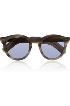 c106f9e49c Cutler and Gross - Round-frame acetate sunglasses