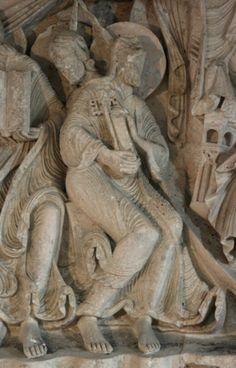Vézelay Abbey: Central Tympanum: Saint Peter