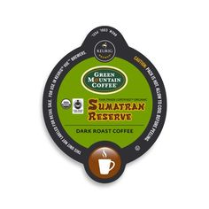 Green Mountain Coffee Fair Trade Organic Sumatran Reserve Vue Cup Portion Pack for Keurig Vue Brewing Systems 96 Count ** You can find out more details at the link of the image. Note: It's an affiliate link to Amazon.
