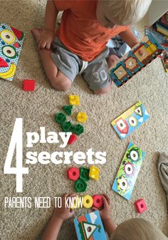 Sneaking Learning into Playtime four play secrets | teachmama | melissa doug