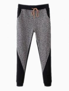 Gray Jersey Sport Pants