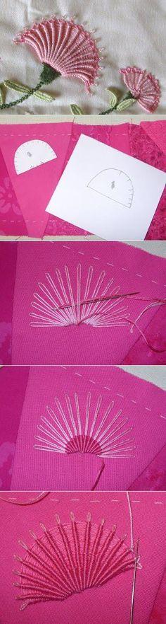 (+1) тема - Вышивка а-ля рококо   РУКОДЕЛИЕ   ришелье бразильская вышивка   Постила
