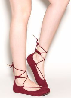 187fce88fdc108 16 Best Lace up ballet flats images