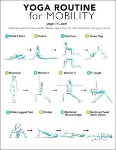 If you feel you are lacking range of motion, flexibility, or just feel overall achy, try this 10 minute beginner yoga for mobility routine! Yoga Beginners, Beginner Yoga, Pranayama, Yoga Meditation, Yin Yoga, Yoga Facts, Yoga Block, Chest Workouts, Yoga Teacher Training