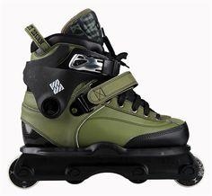 8ec6ee006231 USD Carbon II Olive  rollerblade  rollerblading  inline  skate   aggressiveinline Pro Skate