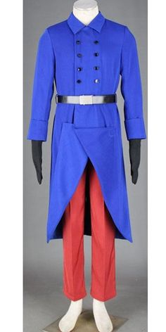 Onecos Axis Power Hetalia France 1st Cosplay Costume *** More info could be found at the image url.