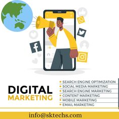 Services and increase your Brand identity Through Digital Marketing! To promote your business and brand globally write us at: info@sktechs.com . #sktechs #digitalmarketing #socialmedia #socialmediamarketing #socialmediamanagement #marketing #promotion #business #success #socialcommunity #transparency #socialmediaknowledge #privacy #mediaconsumption #socialmediacompanies #socialmediaplatforms #connversation #globalpublic #organicpublic #twittermarketing #instagrammarketing Mobile Marketing, Content Marketing, Social Media Marketing, Digital Marketing, Promote Your Business, Social Community, Brand Identity, Promotion, Knowledge