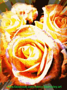 www.facebook.com/nancy.beardsley.art #rose #roses #flowers #bouquet
