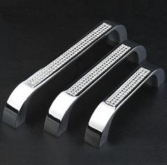 Dresser drawer pulls Crystal  Handle Knob Pull /  by Dreamchinese