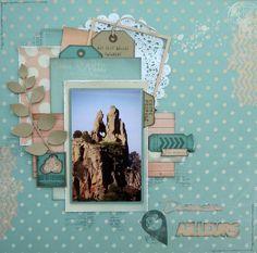 Destination Ailleurs - Collection Summer Destinations, Scrapbook Pages, Scrapbooking Ideas, Photo Layouts, Frame, Archive, Sketch, Inspiration, Collection