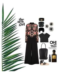 New girl by rodaisabella on Polyvore featuring polyvore, fashion, style, Needle & Thread, River Island, Miu Miu, Nina Ricci, Chanel, Tom Ford, Nika and clothing