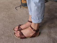 Birkenstocks have always been so blah and unstylish, I would actually wear these - Birkenstock Bali.