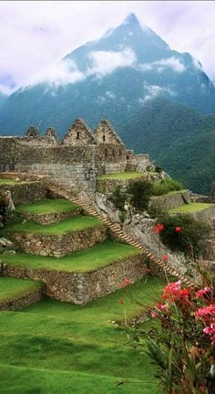I'd Like to Visit ~ Machu Picchu in the Peruvian Andes (photo by Sandra Schlesinger on Flickr)