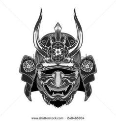 Samurai Warrior Stock Images,