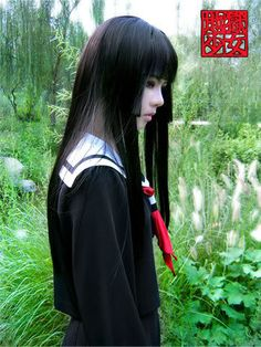 Hell Girl - Ai Enma - InvisibleWings - Cosplay Costumes - 3772