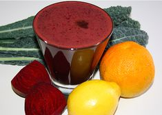 Beet-Kale Juice 2 beets (beetroots) 4-6 kale leaves 2 oranges 1 lemon 1 carrot