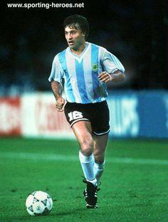 Julio Olarticoechea - Argentina - FIFA Copa del Mundo 1990