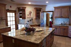 Fantastiche immagini in granite su piani cucina
