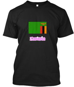 Zambia Flag Pink Flower Design Black T-Shirt Front - This is the perfect gift for someone who loves Zambia. Thank you for visiting my page (Related terms: I Heart Zambia,Zambia,Zambian,Zambia Travel,I Love My Country,Zambia Flag, Zambia Map,Zambia Languag #Zambia, #Zambiashirts...)