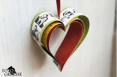 Fotogruesse: Foto-Herz-Girlande zum Valentinstag