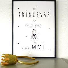 Affiche Princesse (30 x 40 cm) - Babayaga