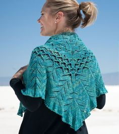 Timbali by Wendy Neal  Twist Collective Winter 2011  Shawl version. It's so pretty!
