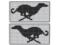 Pattern - cross-stitch, or could be used for filet crochet