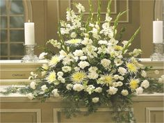 Large Flowers for Containers   Large Flower Arrangement Ideas: White Large Flower Arrangement Ideas ...