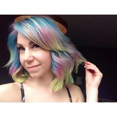 Let's appreciate the rainbow colours. | 17 Stunning Pictures That Will Make You Want To Cut Your Hair