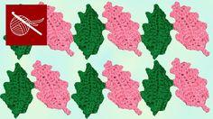 Crochet Holly Leaf by Crochet Geek aka Teresa Richardson Crochet Geek, Crochet Motif, Hand Crochet, Crochet Hooks, Free Crochet, Crochet Patterns, Crochet Leaves, Crochet Flowers, Half Double Crochet