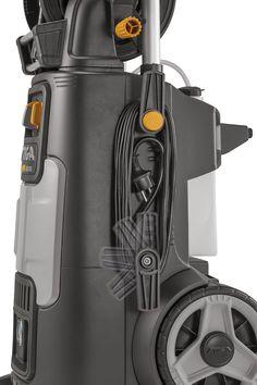 STIGA HPS 650 RG hogedrukreiniger  voor grote oppervlakken en gemiddeld tot hardnekkig vuil  2800 W inductiemotor en regelbare waterdruk  tot 150 bar   5 m elektrisch snoer met verstelbare opberghaken