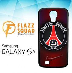 paris saint-germain X4606 Samsung Galaxy S4 Case