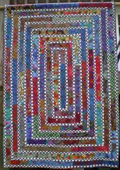 Very neat quilt design