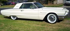Ford T-Bird 1965. There's only one thing better.....having one that's towing a vintage trailer!