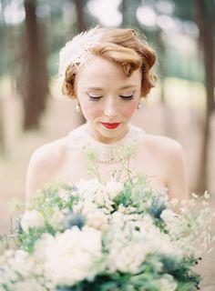 Great Gatsby Wedding Makeup Inspiration