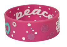 Pink Peace Silicone Bracelet by - These colorful silicone bracelets feature inspiring scriptures for christian youth. Bible Bag, Christian Bracelets, Jewish Jewelry, Silicone Bracelets, Christian Gifts, Bracelet Designs, Best Gifts, Peace, Pink