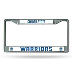 New! Golden State Warriors Chrome License Plate Frame #GoldenStateWarriors