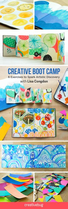 Jumpstart your artistic practice with six weeks of creativity exercises taught by Lisa Congdon. Using a variety of Lisa's favorite art supplies and tried-and-true processes, learn how to use Microns, oil sticks, paints and collage to take a fresh look at shape, line and color.