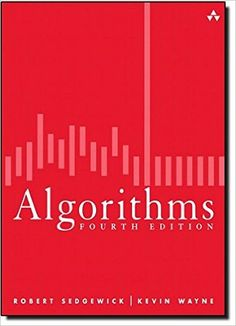 """""""This fourth edition of Robert Sedgewick and Kevin Wayne's Algorithms is the leading textbook on algorithms today and is widely. Computer Algorithm, Computer Technology, Computer Science, Science Books, Data Science, Web Design Quotes, Short Term Goals, Creative Web Design, Data Structures"""