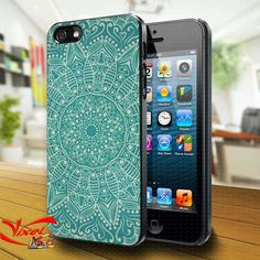 Phone Cases – mandala iphone 4/4S/5 case cover – a unique product by Reyes-Dawn- on DaWanda