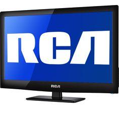 """RCA 21.5"""" LCD HDTV (@ Meijer.com)  #MeijerDormDecor #DormDecor"""