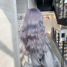 Shot Hair Styles, Curly Hair Styles, Hair Inspo, Hair Inspiration, Korean Hair Color, Ulzzang Hair, Dead Hair, Dyed Hair Pastel, Hair Dye Colors