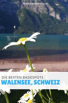 Der Walensee ist ein wunderschöner See im Schweizer Kanton St. Gallen. Hier findest du die besten Badestellen und prima Tipps für Anreise und Grillstellen oder Restaurants am Seeufer für einen tollen Tag am Walensee. Fjord, Wind Turbine, Kanton, St Gallen, Restaurants, Travel, Travel Advice, Bathing, Traveling