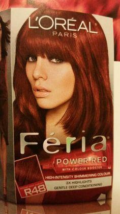 L Oréal Paris Feria Red R48